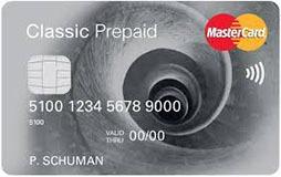 Mastercard Prepaid Classic