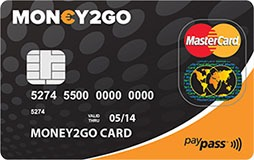 money2go mastercard
